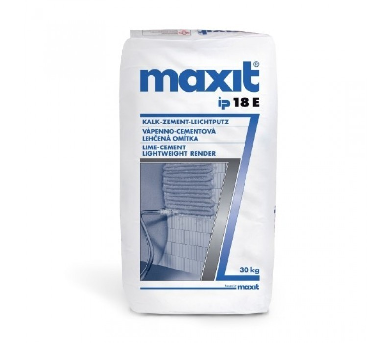 maxit ip 18 E - Kalk-Zement-Leichtputz - 30kg