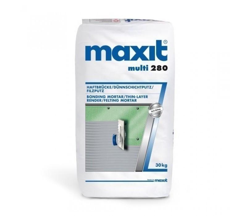 maxit multi 280 - Haftbrücke / Dünnschichtputz / Filzputz - 30kg