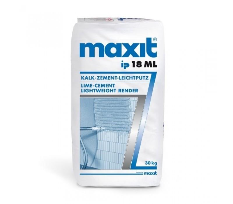maxit ip 18 ML -  Kalk-Zement-Leichtputz - 30kg