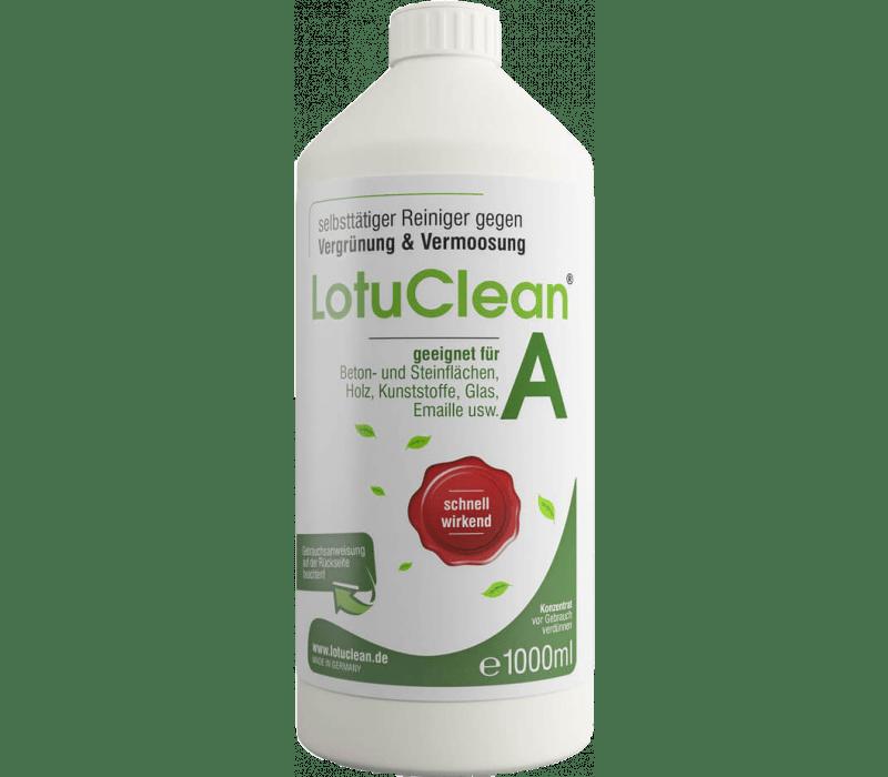 Lotuclean® A - Grünbelagentferner gegen Moos & Algen