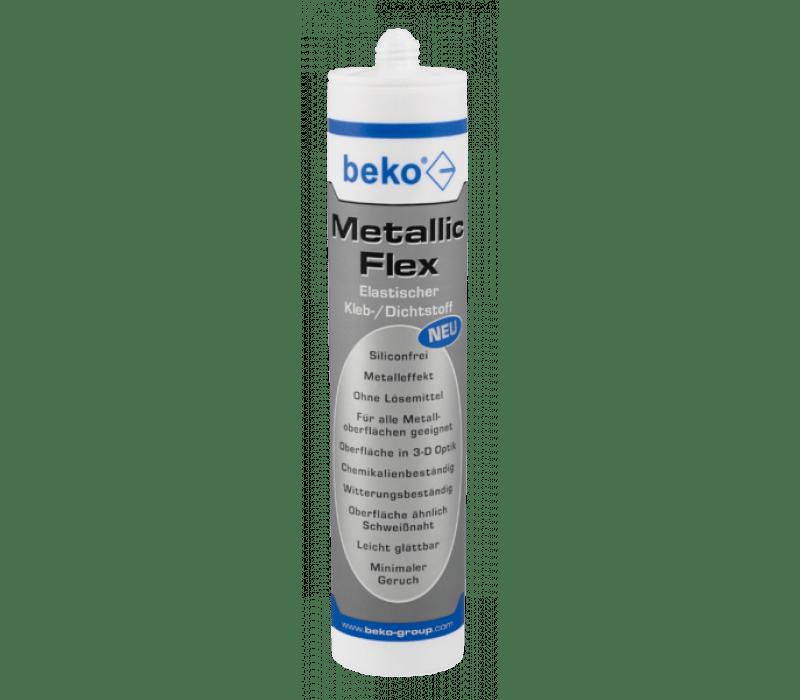 beko Metallic-Flex, 305g metallic silber