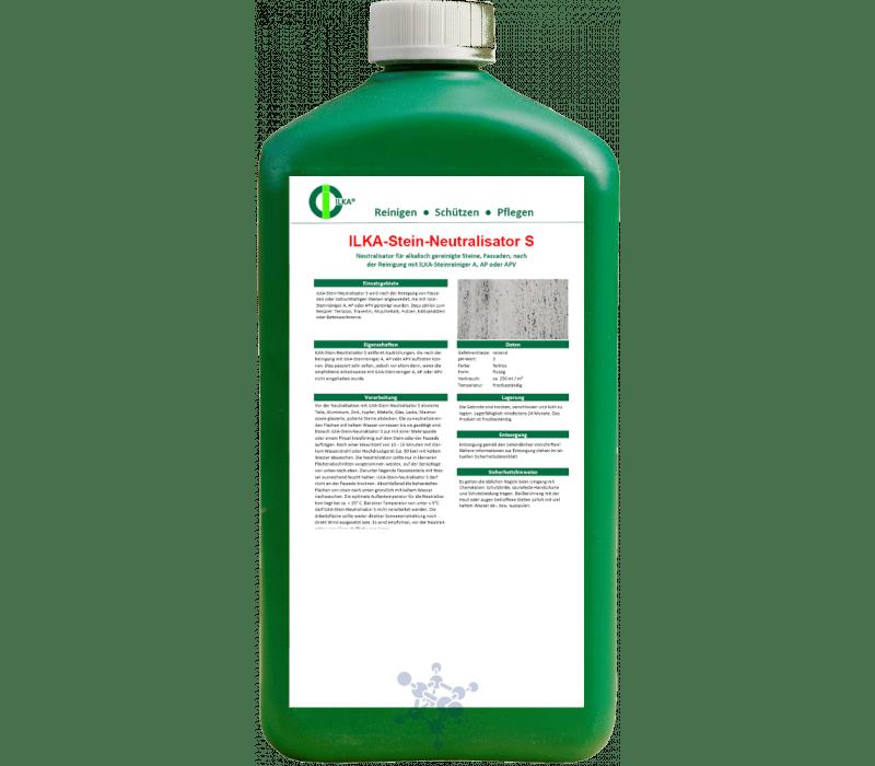 ILKA - Neutralisator S für alkalisch gereinigte Steine
