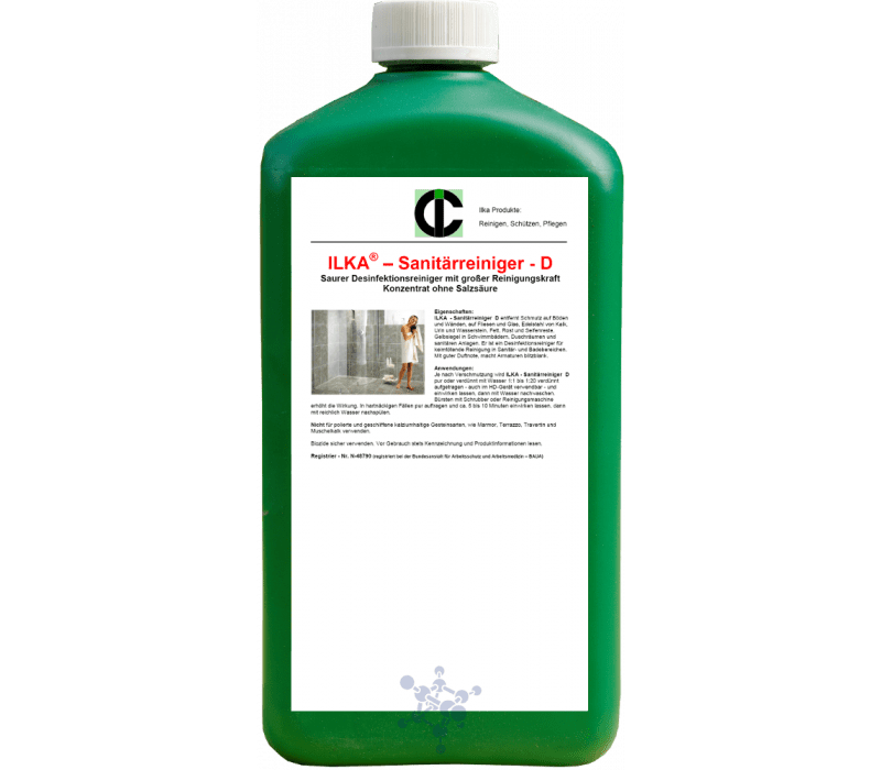 ILKA - Sanitärreiniger D Desinfektionsreiniger