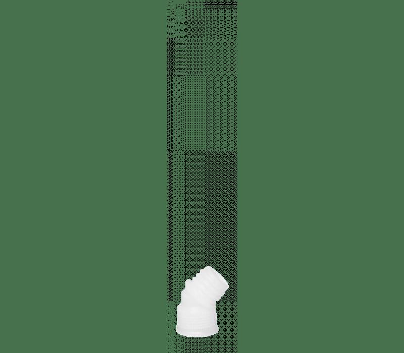 Winkelstück 45° für Kartuschenspitze