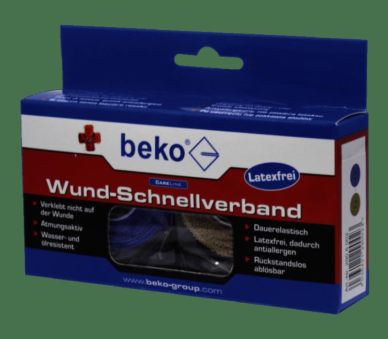 beko CareLine Wund-Schnellverband 25mm, 2 Rollen à 4,5m