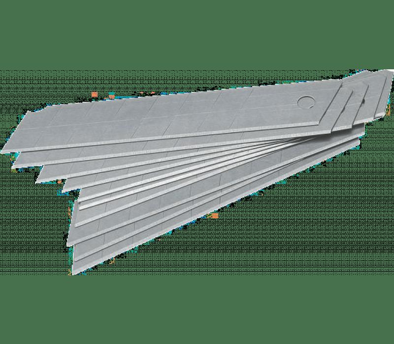 Ersatz-Abbrechklingen 18 mm, 10 Stück im Spender