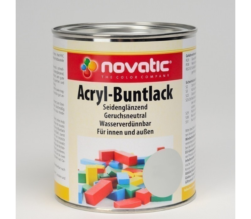 novatic Acryl-Buntlack AD26 seidenglänzend