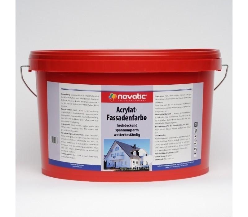 novatic Acrylat Fassadenfarbe AF06