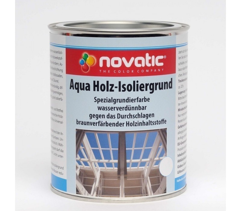 novatic Aqua Holz-Isoliergrund AG18 - farblos