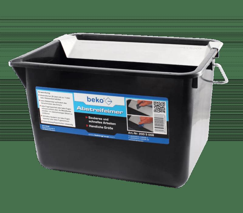 beko Abstreifeimer, 8 ltr - für Dichtstoffe