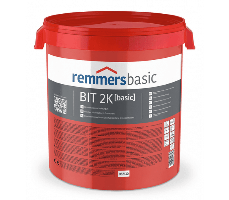 Remmers BIT 2K basic | ECO 2K - Bitumendickbeschichtung 2K, 30ltr