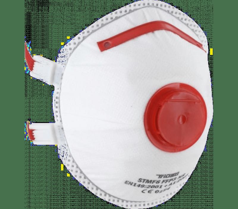 Komfort-Feinstaubmaske mit Ausatemventil, FFP3 NR