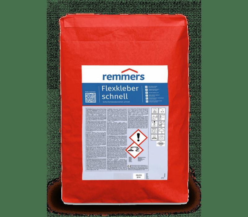 Remmers Flexkleber schnell - Sicherheitsklebemörtel