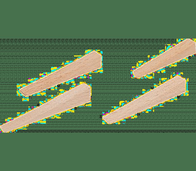 Fliesenkeile, Holz - 54x7x0-8,5mm, 250St./Beutel