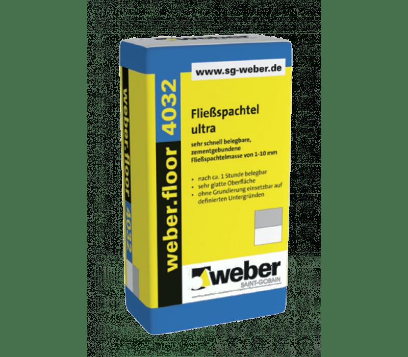 weber.floor 4032 - Fließspachtel ultra - 25kg