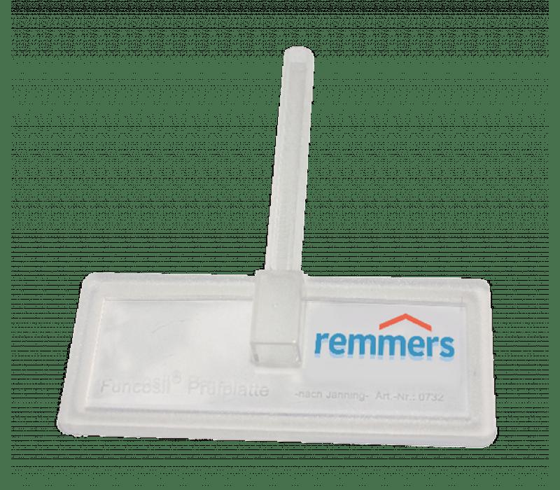 Remmers Funcosil Prüfplatte