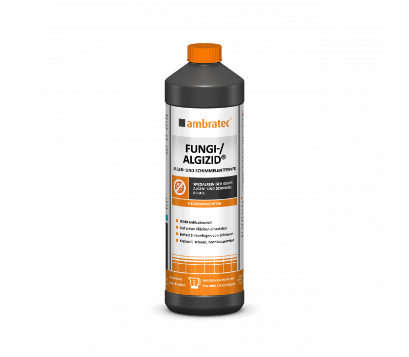 ambratec Fungi - Algizid® - Algen- und Schimmelentferner - 1 ltr