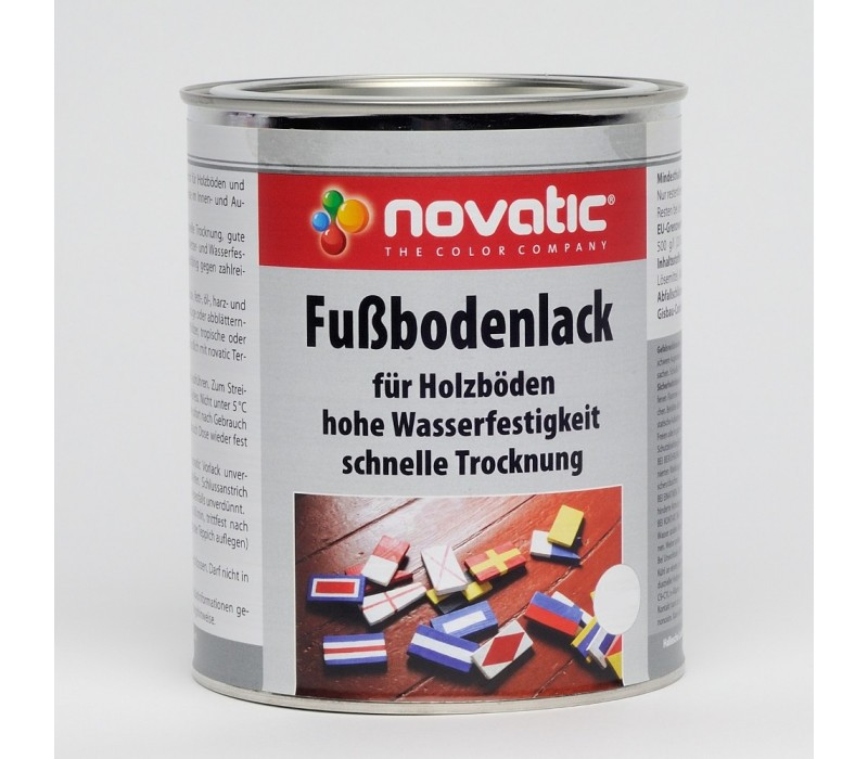 novatic Fussbodenlack KD30 - rotbraun