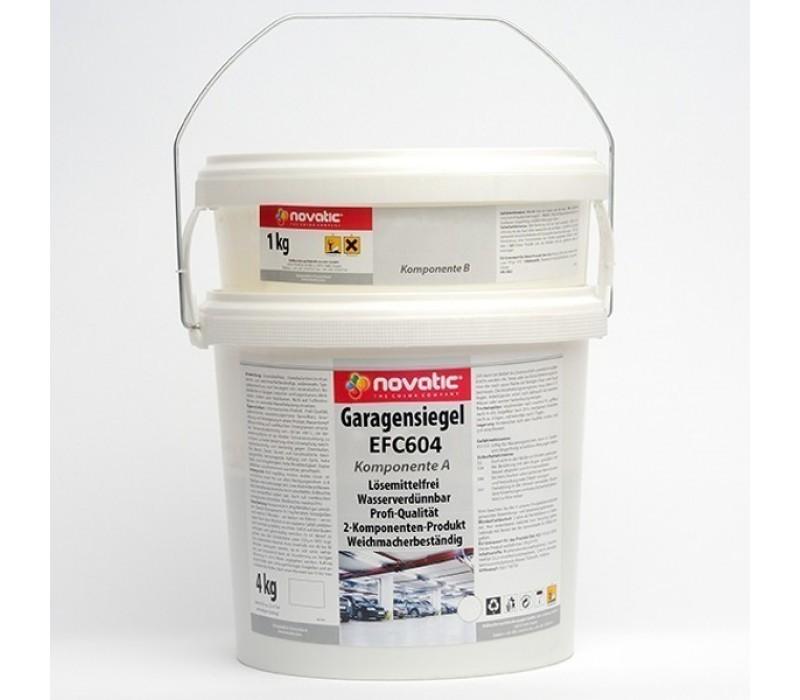 aquatic 2K-EP-Versiegelung BF55 | novatic Garagensiegel EFC604, 5kg