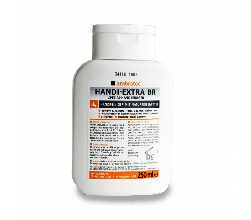 ambratec Handi-Extra BR | Spezial-Handreiniger - 250ml