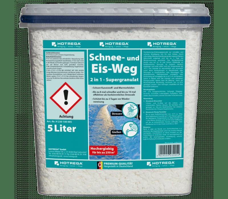 HOTREGA Schnee- und Eis-Weg 2in1 - 5 ltr