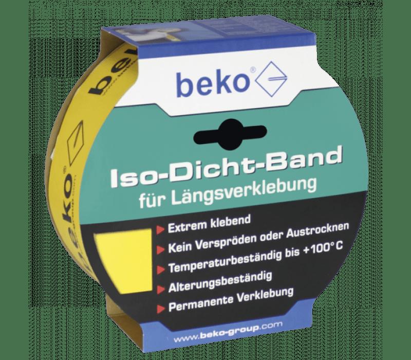 beko Iso-Dicht-Band | Gelb - für Längsverklebung von Dampfbremsen
