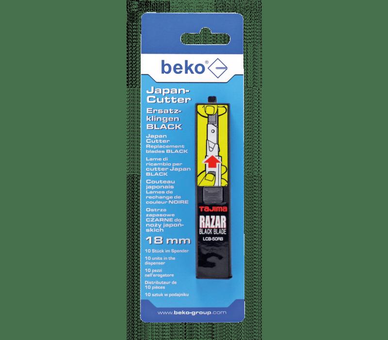 beko Japan-Cutter Ersatzklingen black | 10Stück