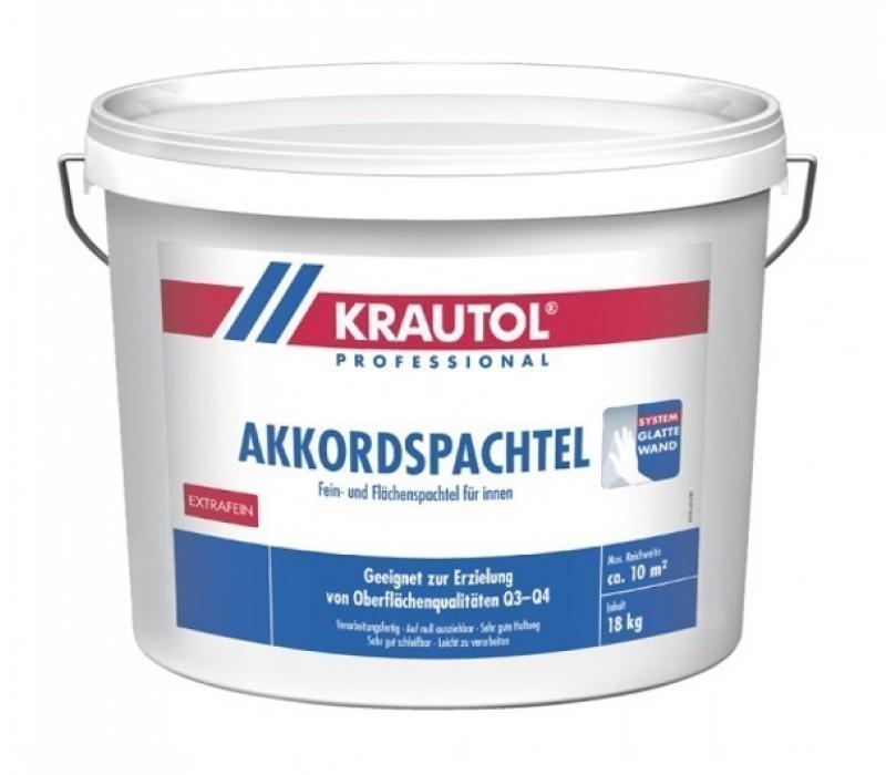 KRAUTOL AKKORDSPACHTEL | Fein- und Flächenspachtel - naturweiß - 18kg