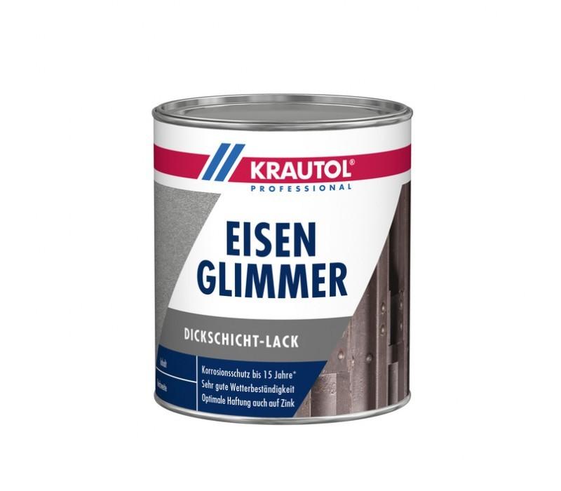 KRAUTOL EISENGLIMMER | Dickschichtlack - RAL9007 Graualuminium