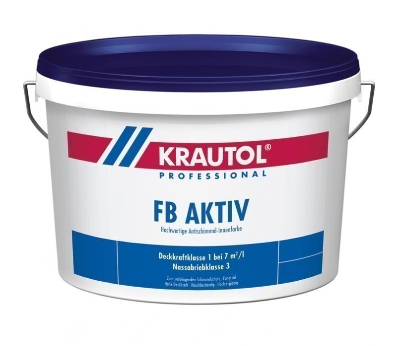 KRAUTOL FB AKTIV | Schimmelschutz-Innenfarbe - weiß