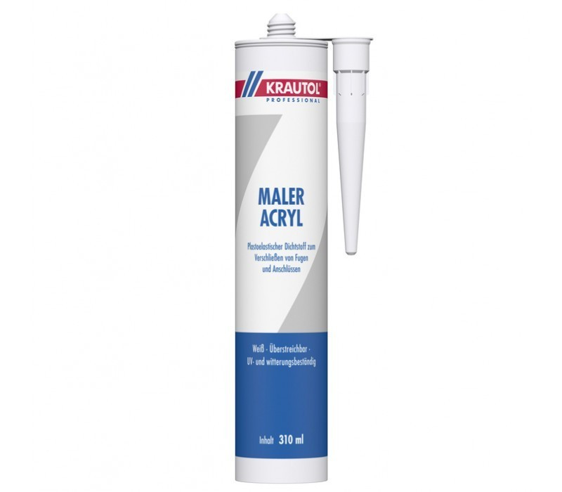 KRAUTOL MALER ACRYL - weiß - 310ml