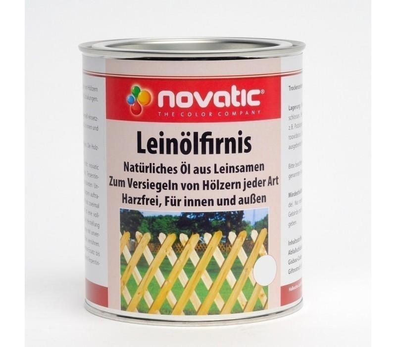 novatic Leinölfirnis XX02 - farblos - 750ml