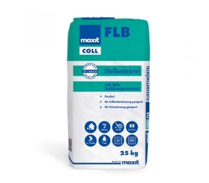 maxit coll FLB – Fließbettmörtel, 25kg