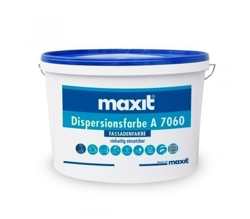maxit Dispersionsfarbe A 7060 - Fassadenfarbe, weiß
