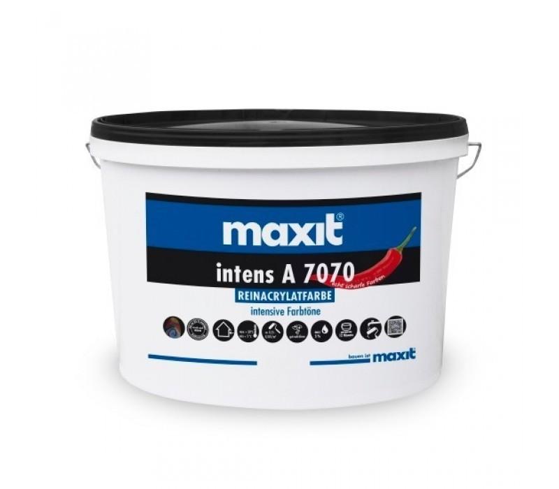 maxit intens A 7070 - Reinacrylat-Fassadenfarbe, weiß