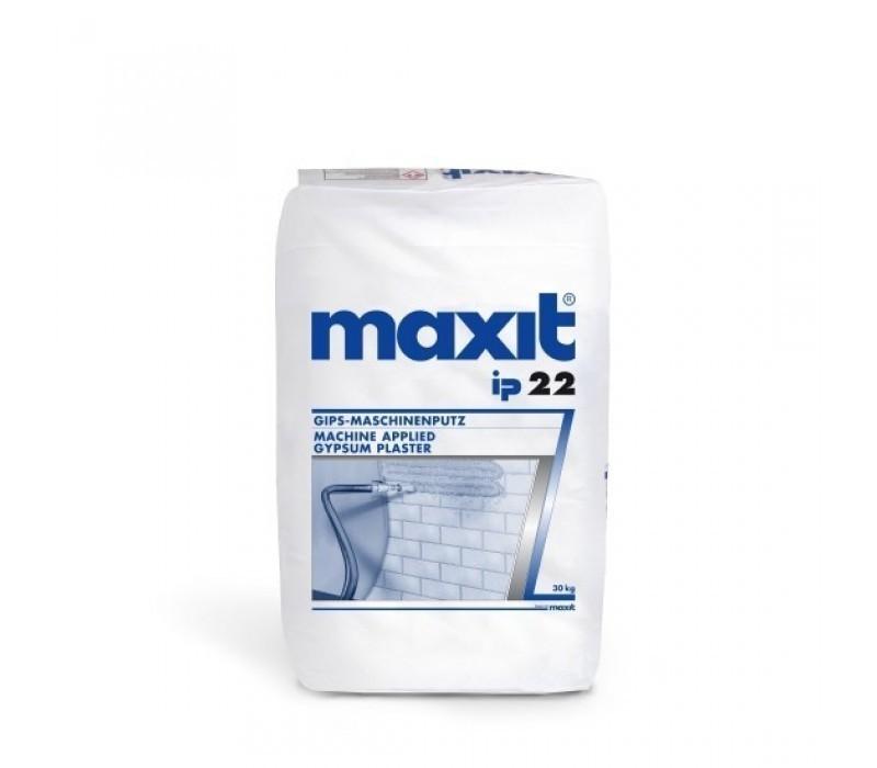 maxit ip 22 - Gipsmaschinenputz für Innen - 30kg
