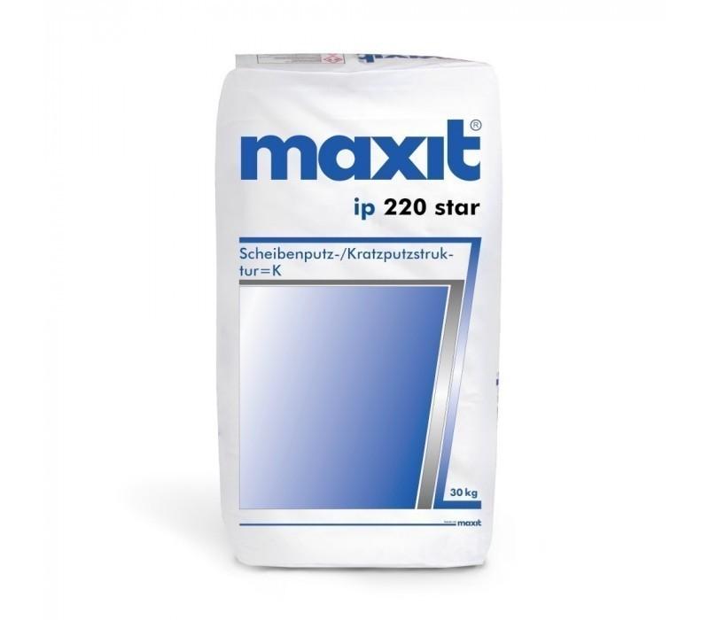 maxit ip 220 star - Scheibenputz, weiß - 30kg
