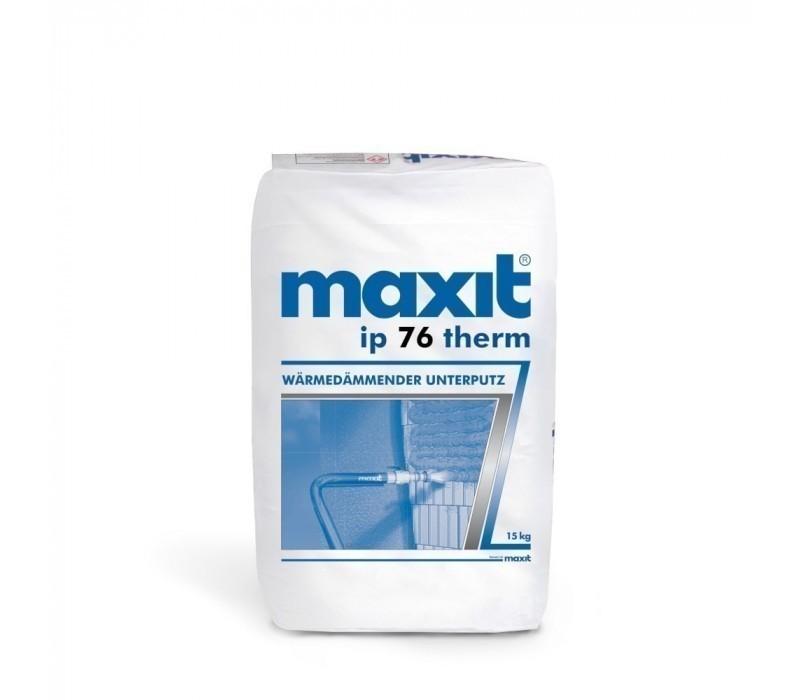 maxit ip 76 therm - Wärmedämmender Unterputz - 15kg