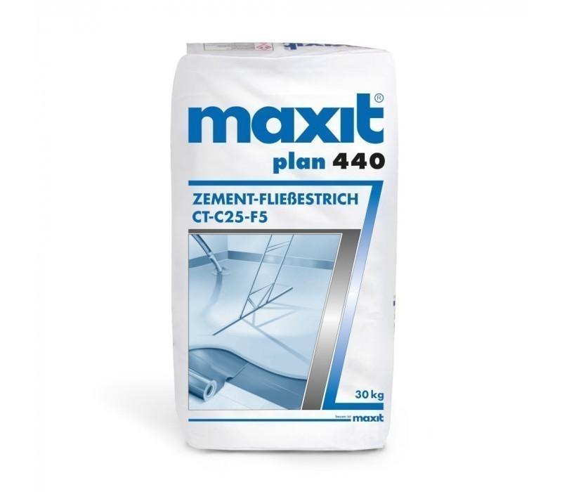 maxit plan 440 (ehem. plan 446) Zement-Fließestrich (weber.floor 4341) - CT-C25-F5, 30kg