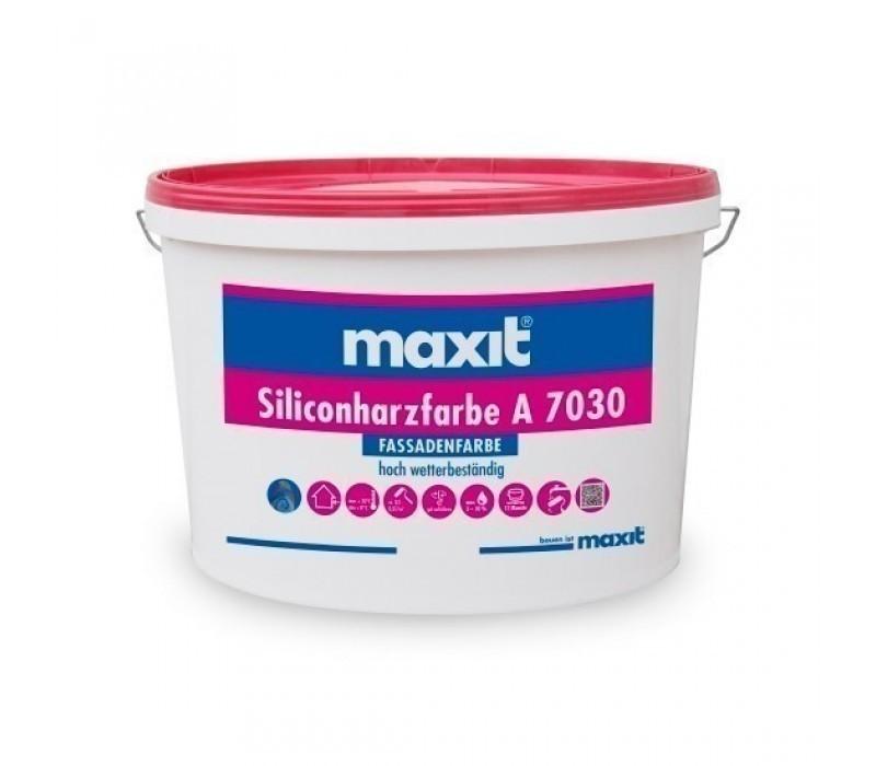maxit Siliconharzfarbe A 7030 - Fassadenfarbe, weiß