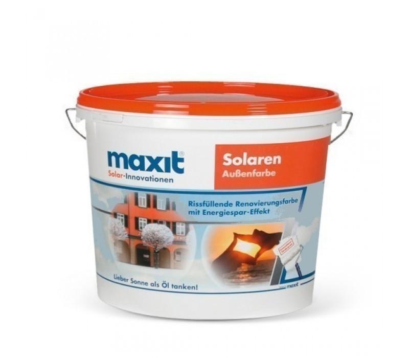 maxit Solaren - Renovier-Fassadenfarbe, weiß