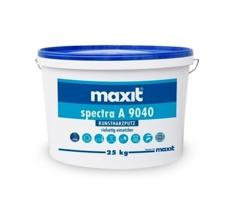 maxit spectra A 9040 K - Kunstharz-Scheibenputz, außen, weiß - 25kg