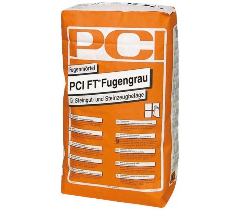 PCI FT Fugengrau - Fugenmörtel, hellgrau - 25kg