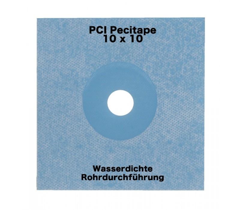 PCI Pecitape blau 10x10cm - Spezial-Dichtmanschette