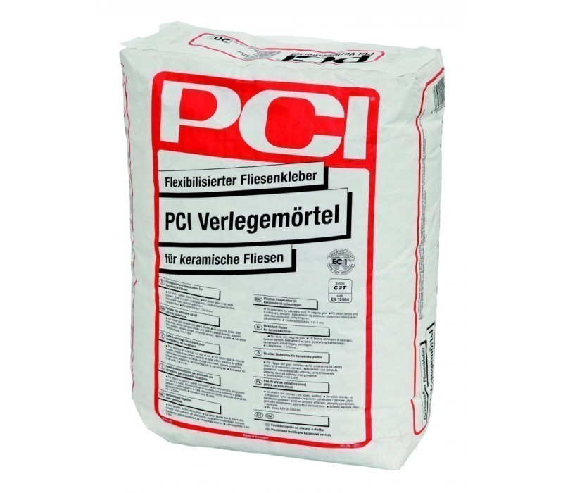 PCI Verlegemörtel - Flex-Fliesenkleber - 20kg
