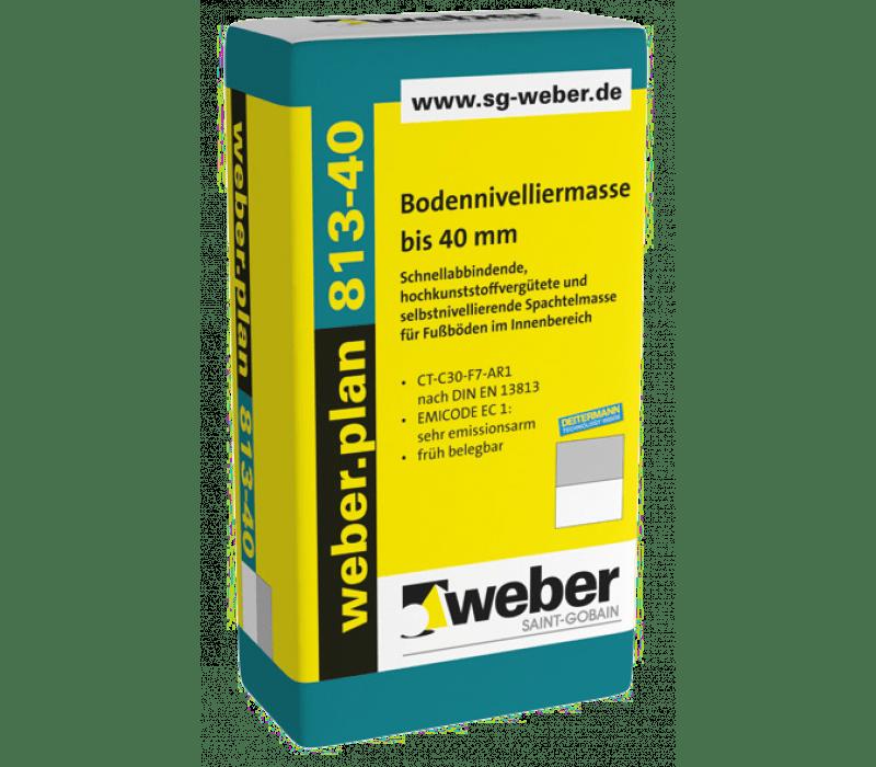 weber.plan 813-40, 25kg - Bodennivelliermasse bis 40 mm