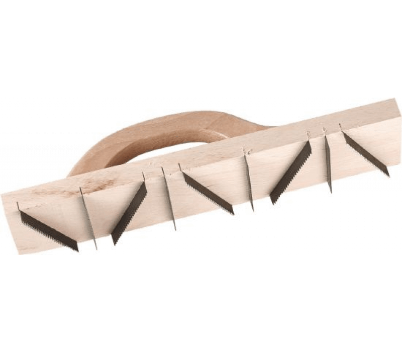 Porenbetonhobel 400x90mm, mit 9 gezahnten Messern