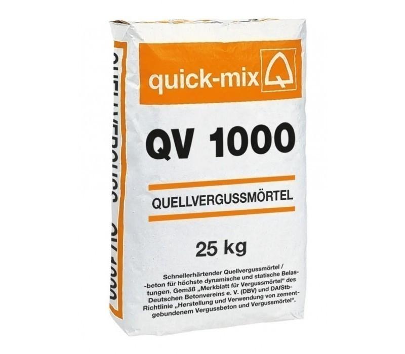 Quick-Mix QV 1000 Quellvergussmörtel / -beton - 25kg