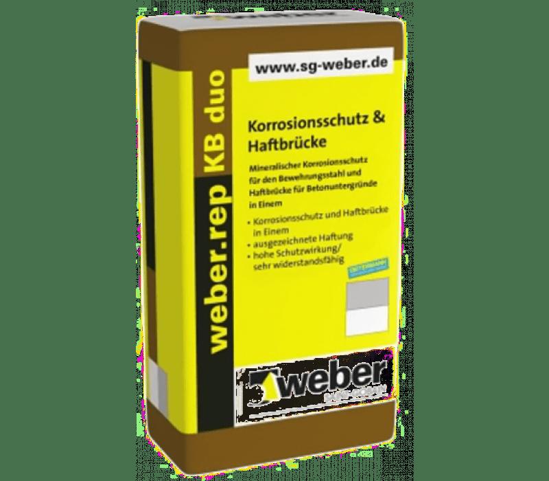 weber.rep KB duo - Korrosionsschutz & Haftbrücke