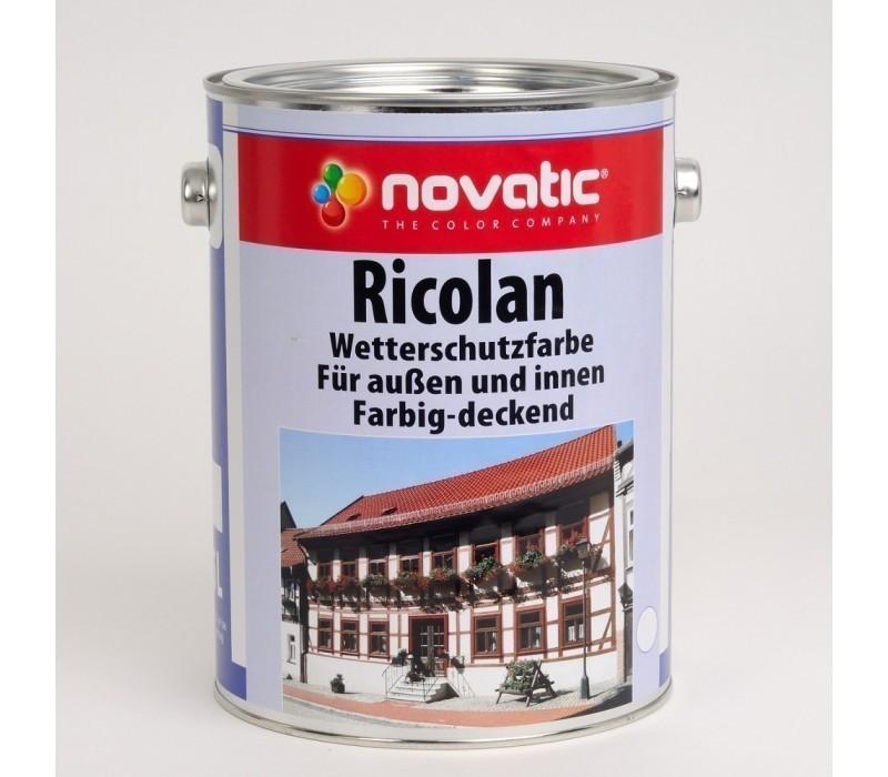 novatic Ricolan Wetterschutzfarbe LF AD54